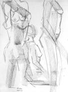 original nude n*III pencil drawing 34 cm x 24 cm woytasik_art